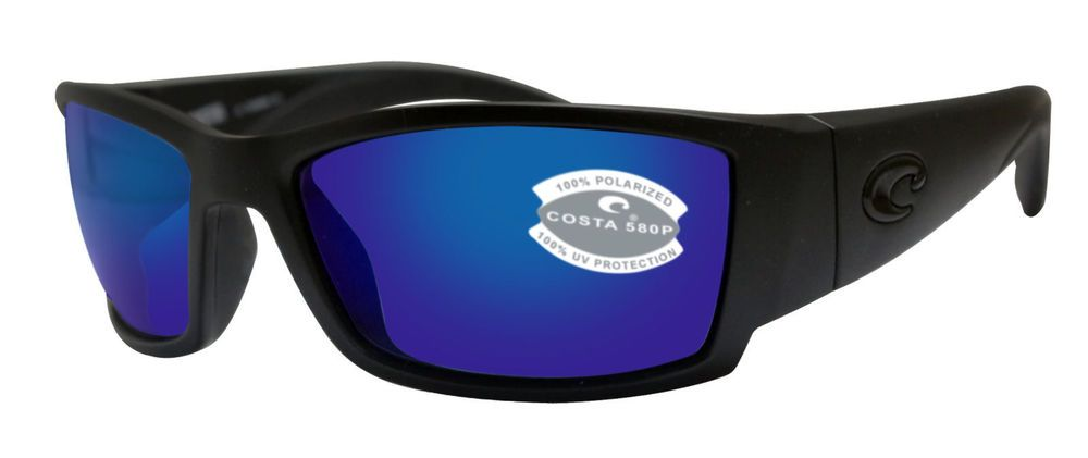 b163765688 eBay  Sponsored Costa Del Mar Corbina Men Sunglasses CB 01 OBMP Blackout    Blue 580P Polarized