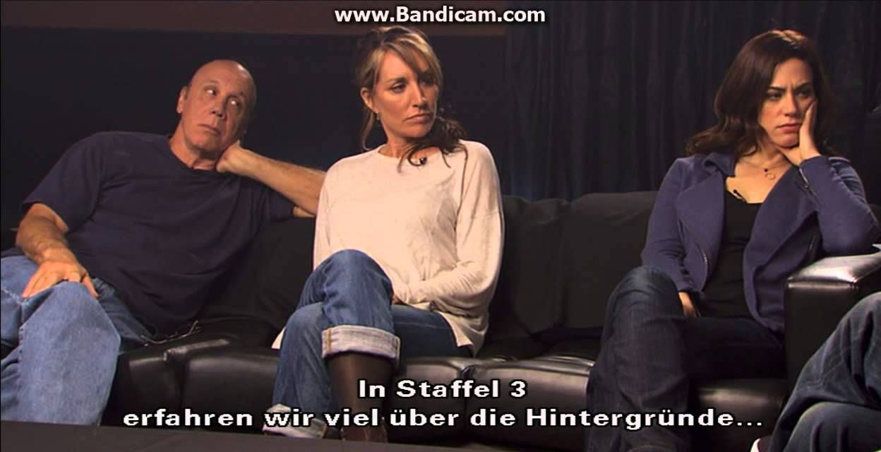 Sons of Anarchy Q&A Season 2 Part 4 (German subtitle)