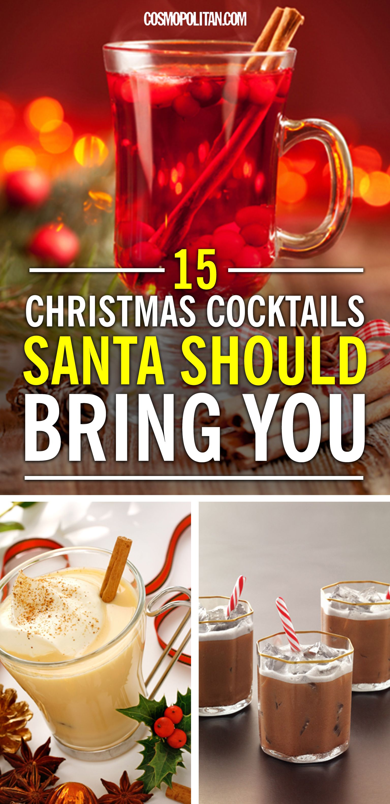 These Christmas Cocktails Will Get You Through That ...