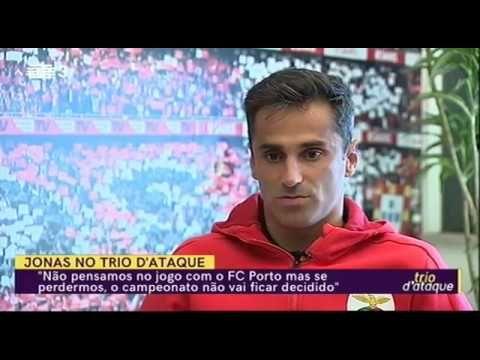 Entrevista De Jonas A Rtp Trio D Ataque Youtube Entrevista Trio Sport Lisboa E Benfica