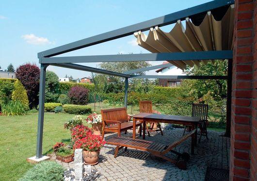 Dach Pergola zadaszenie tarasu pergole z proszkowo malowanego aluminium na