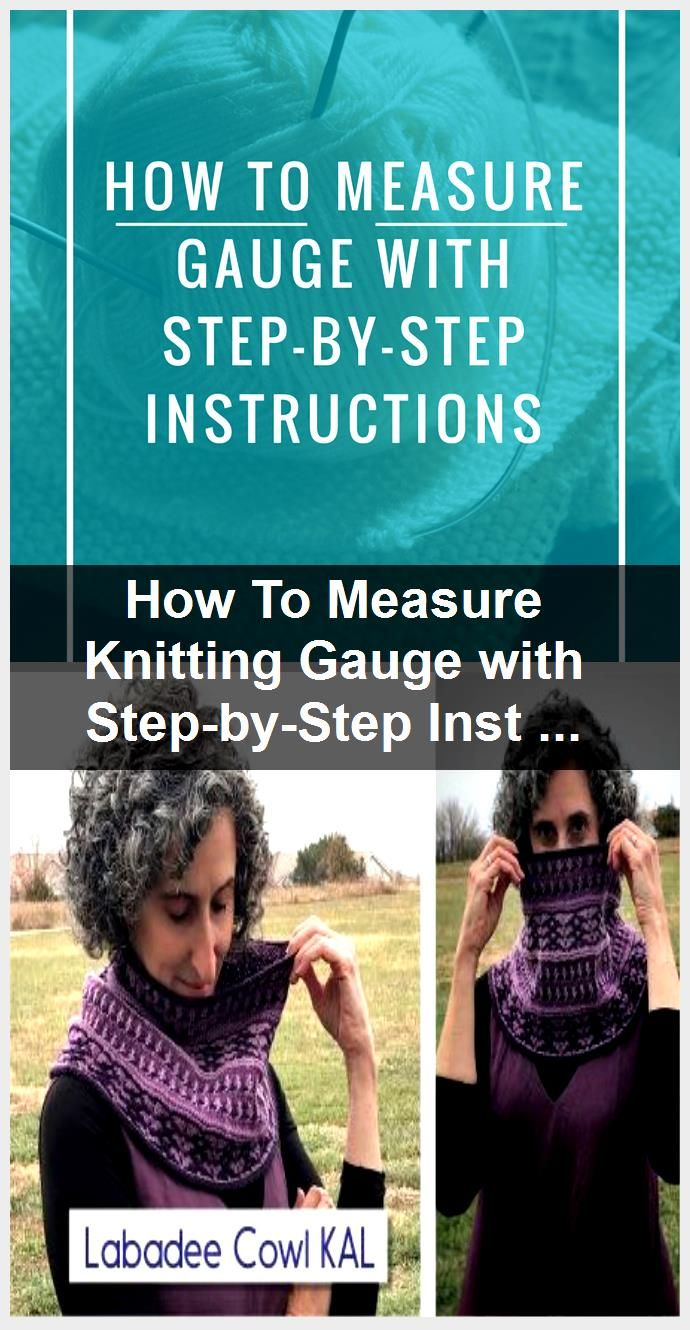 How To Measure Knitting Gauge with StepbyStep Instructions How To Measure Knitting Gauge with StepbyStep Instructions