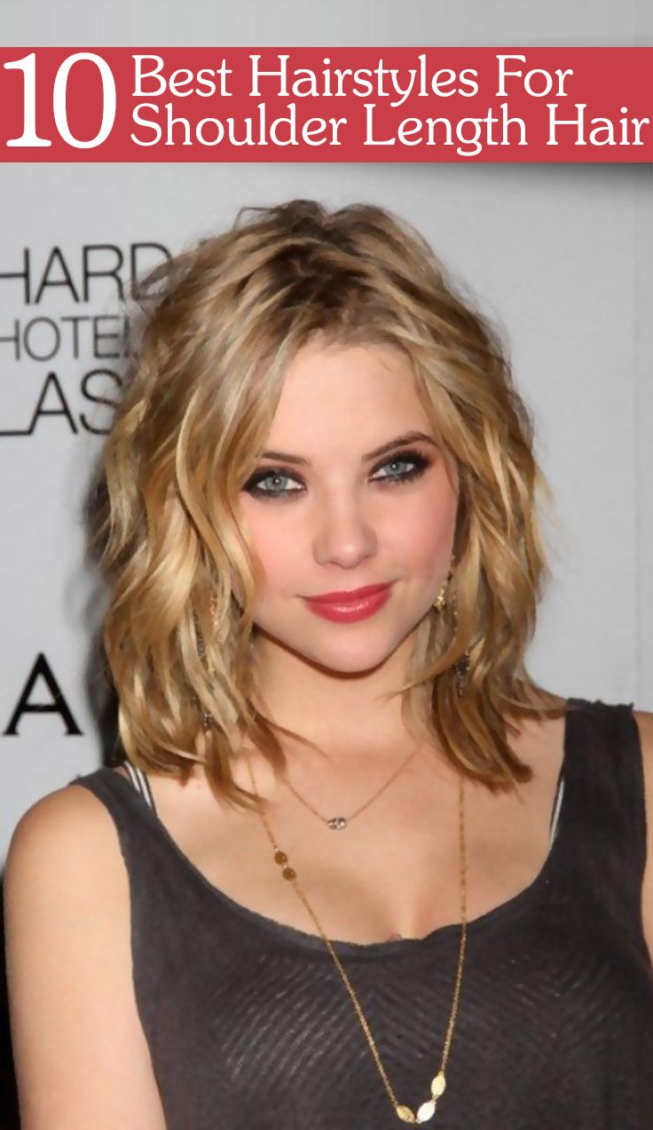 Love cute hairstyles for shoulder length hair wanna give your hair