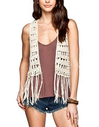 Free Crochet Pattern Vest With Fringe Google Search Crochet