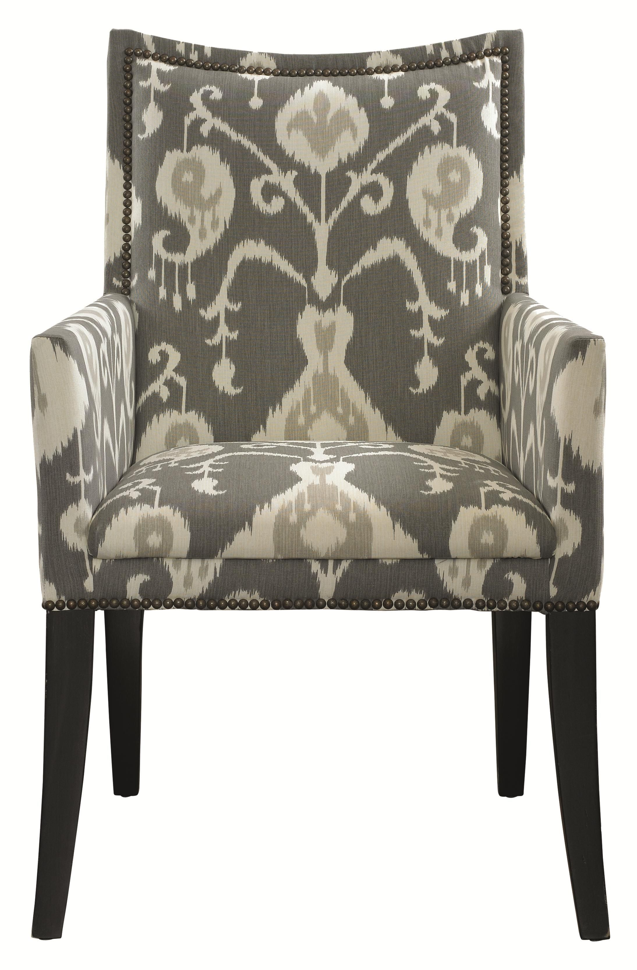 Upholstery Upholstered Dining Chair With Arms By HGTV Home Furniture  Collection