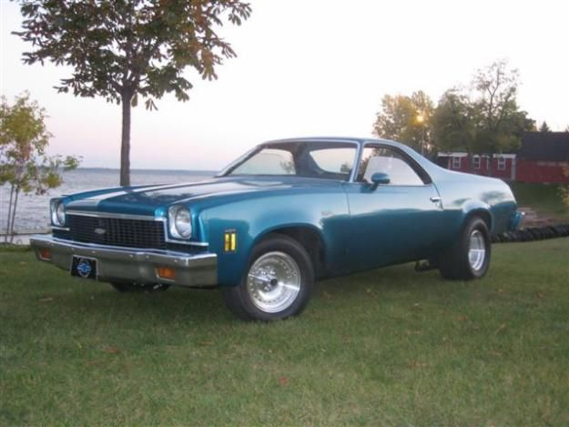 1973 Chevrolet El Camino Cool Cars Dream Cars Chevy Trucks
