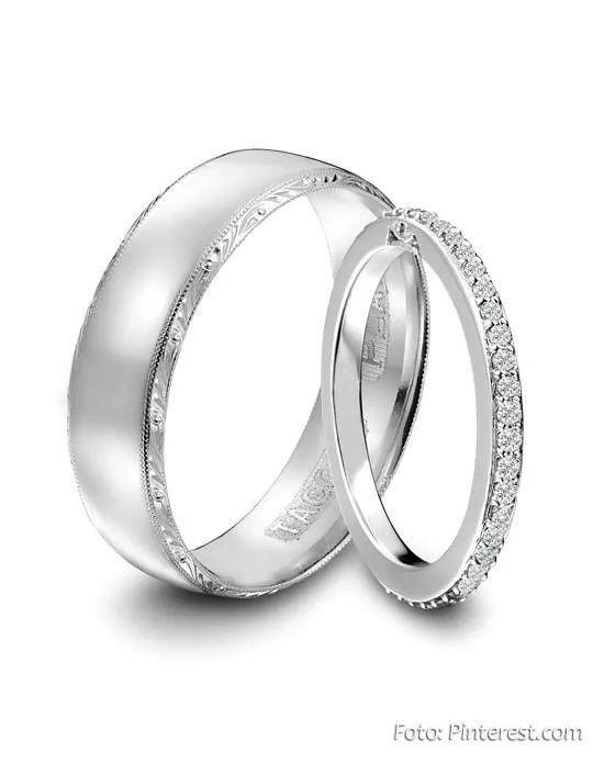 6073870ab3fe Anillo sencillo para boda civil