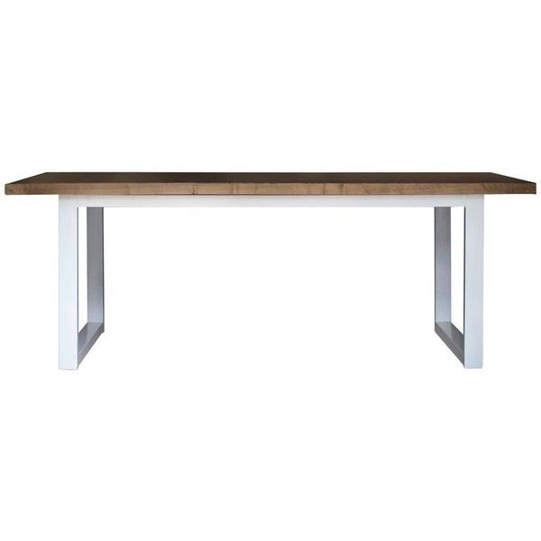 Preowned Kitchen Table Modern Wood And Powder Coated Steel Dining 2 100 Liked Modern Wood Kitchen Tables Modern Wood Kitchen Vintage Dining Room Table