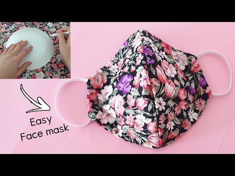 Photo of Make Fabric Face Mask at Home – DIY Cloth Face Mask No Sewing Machine – Easy Face Mask Pattern