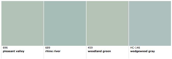 Benjamin Moore Colors Similar To Wythe Blue Via Room