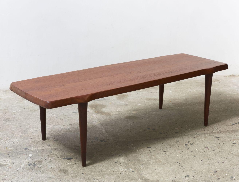 Solid Teak Coffee Table Made In Denmark 1950s Teak Coffee Table Coffee Table Teak