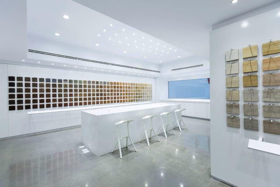 Cache. Tienda de diseño, materiales de piso y cortinas