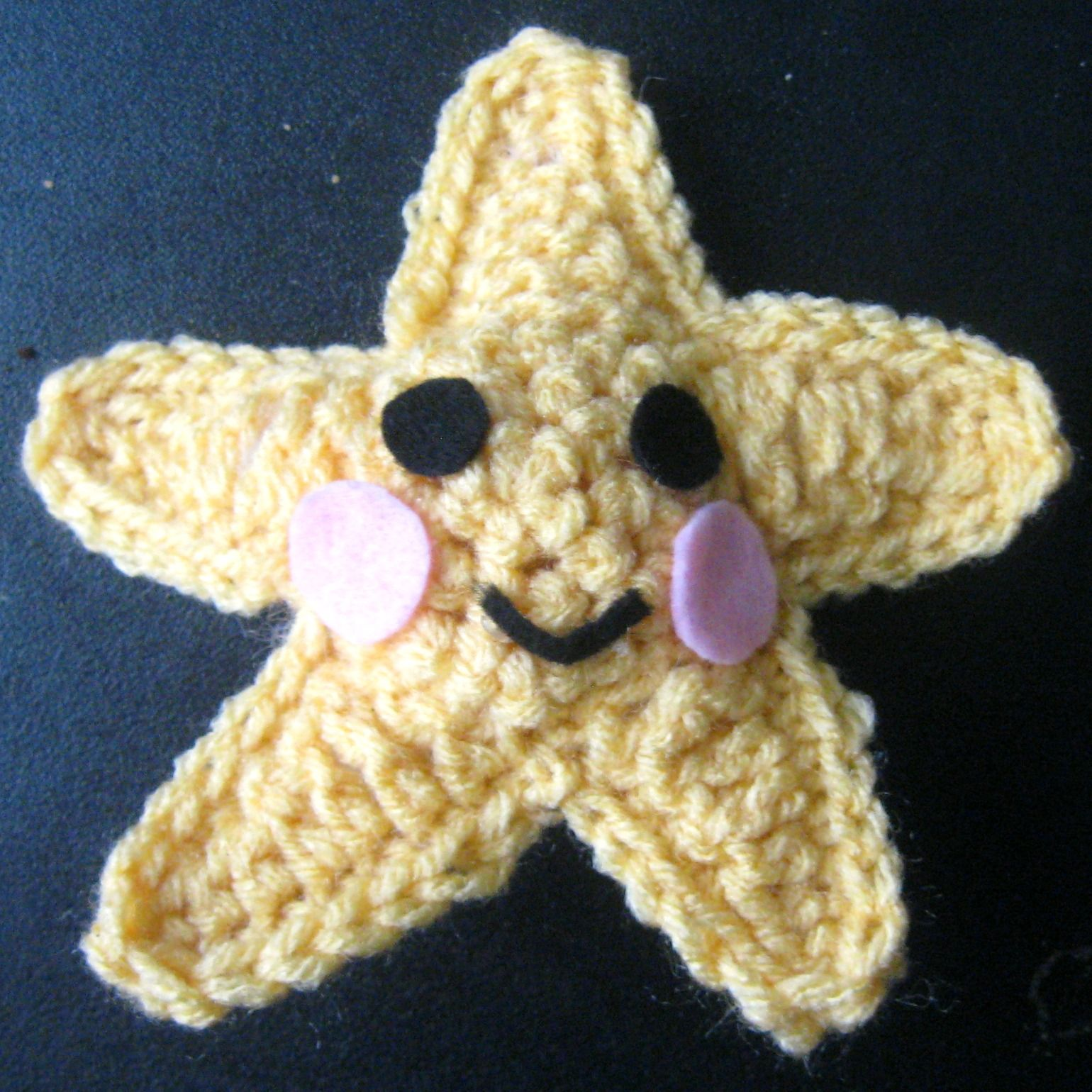 Here in the Waiting Place: Crocheted Starfish   Crochet - Kids ...