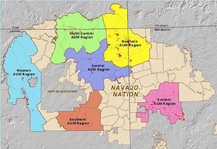 Gis Map Uranium Of Contaminated Sites Navajo Nation