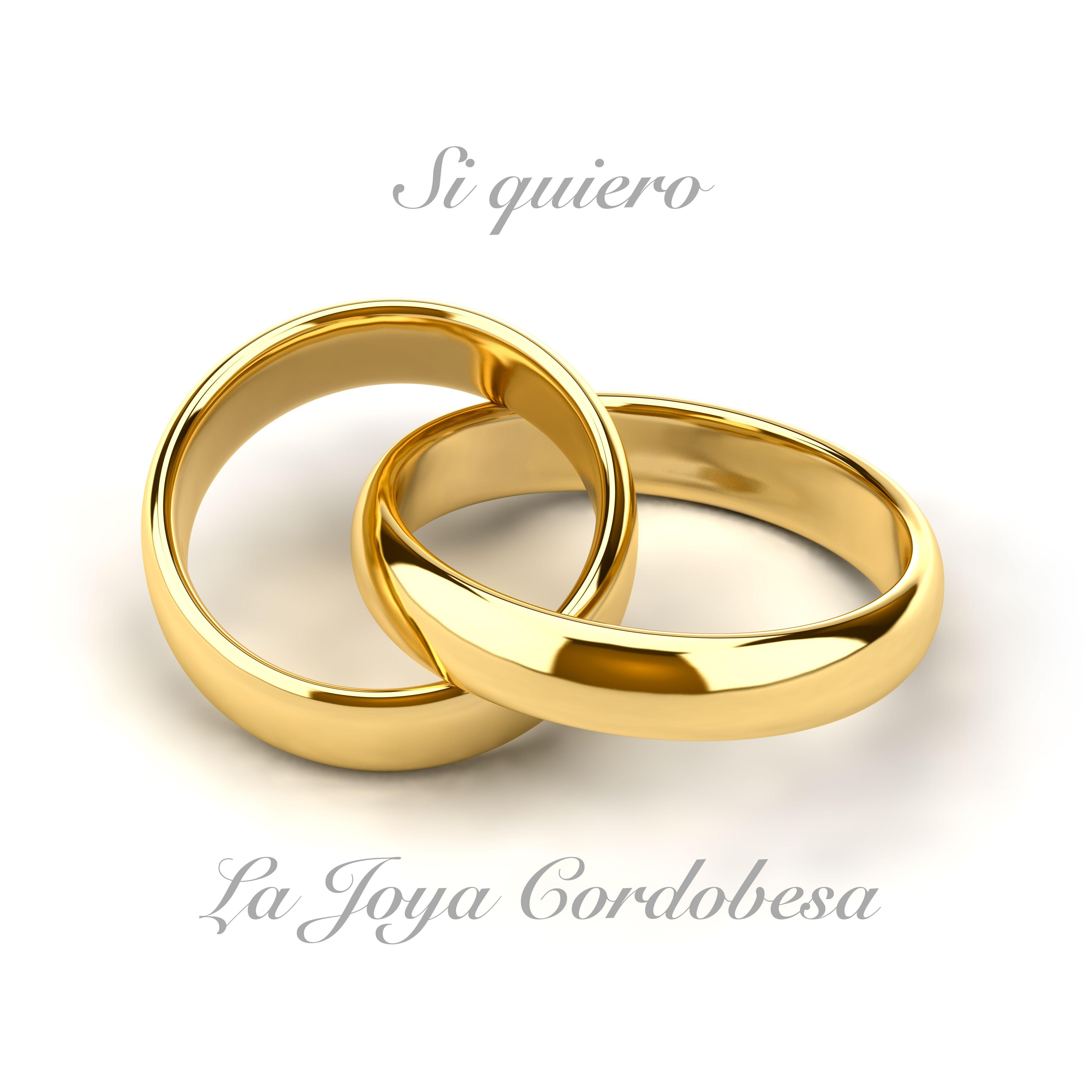Si Quiero Quiero La Joya Cordobesa Cordoba Joyeria Joyas Alianzas Alianzasboda Anillo De Matrimonio Anillos De Boda Anillos De Compromiso