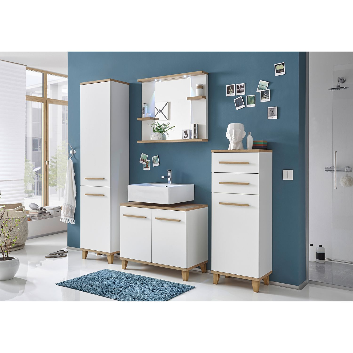 Badmöbel Set 80 Cm Breit Stehend Pin By Ladendirekt On Badmöbel Bathroom Bathroom