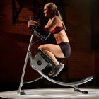 Abdominal Exercise Machine ABS Coaster Crunch Muscle Fitness Body Roller Gym #Fitness #abexercisemac...