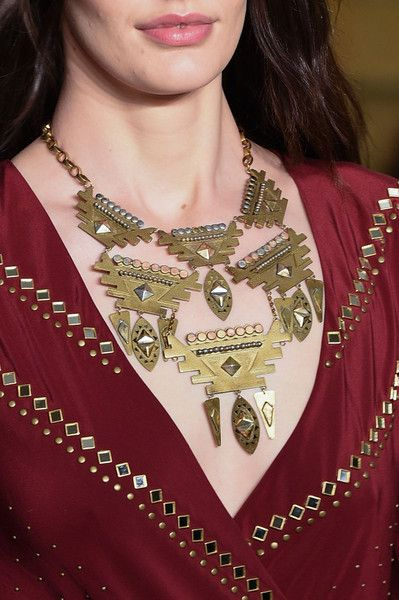 Tory Burch at New York Fall 2015 (Details)