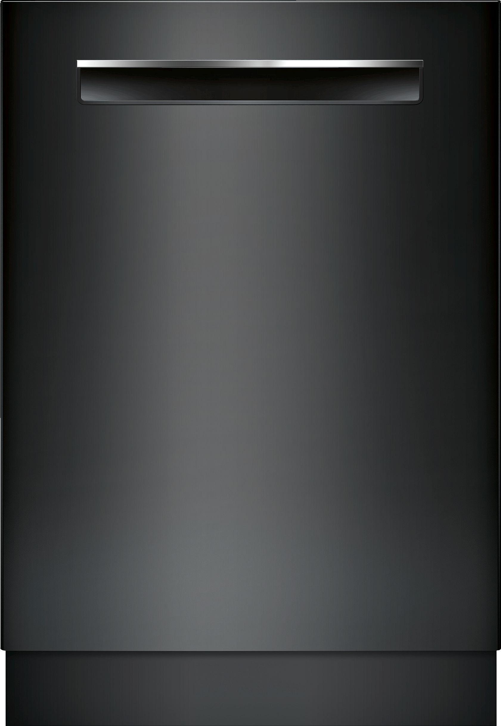Bosch 500 Dlx Series Dishwasher With Autoair Black In 2020 Integrated Dishwasher Black Dishwasher Fully Integrated Dishwasher