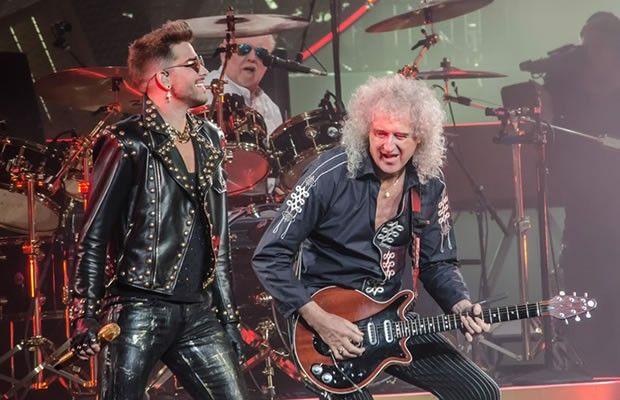 Adam Lambert And Queen Rock Wells Fargo Center in Philadelphia on 16-Jul-2014