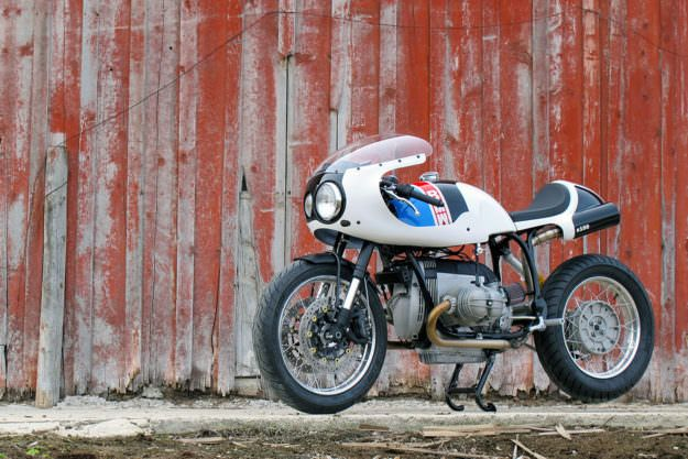 White Hot Union S Track Inspired Bmw R100 R Images