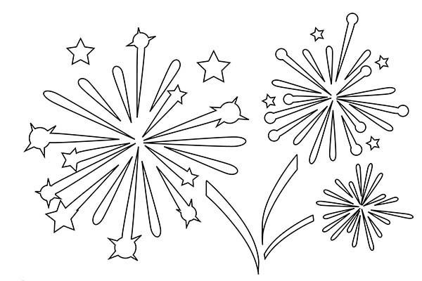 firework coloring pages # 1