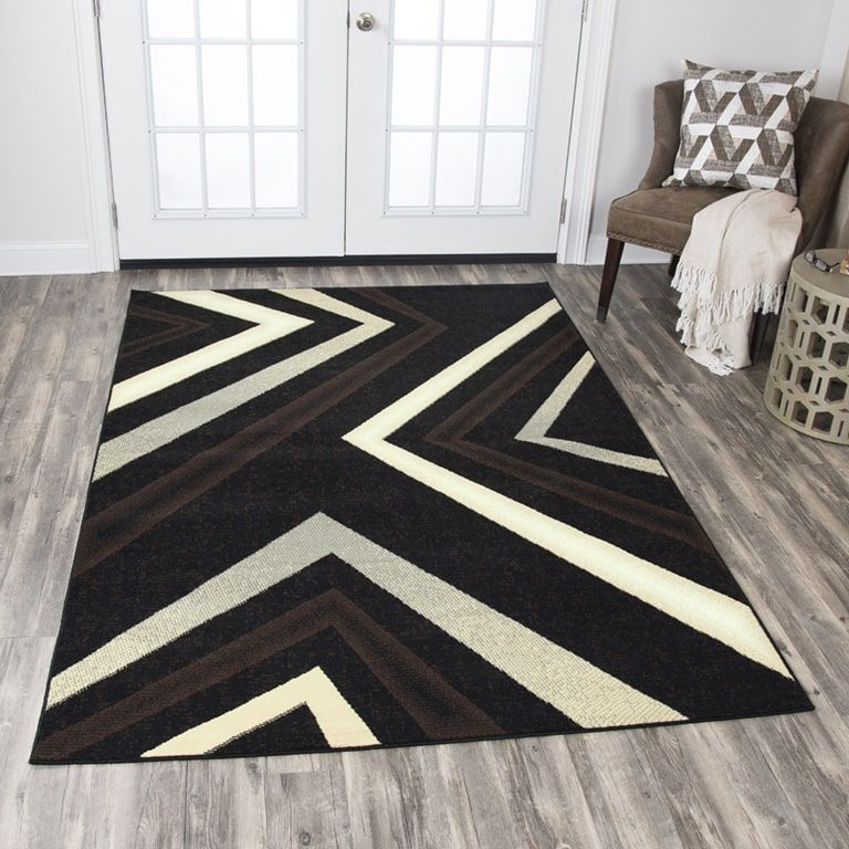 Rizzy Home Xcite Black Angle Area Rug (8' x 10') (XI6936 ... on home design, home cell phones, home roof systems, home health, home decor, home upholstery fabric, home appliances, home windows, home sofa sleepers, home garden ideas, home funeral services, home countertops, home mirrors, home bed, home furnishings, home garden trees, home kitchen, home art collection, home walls,