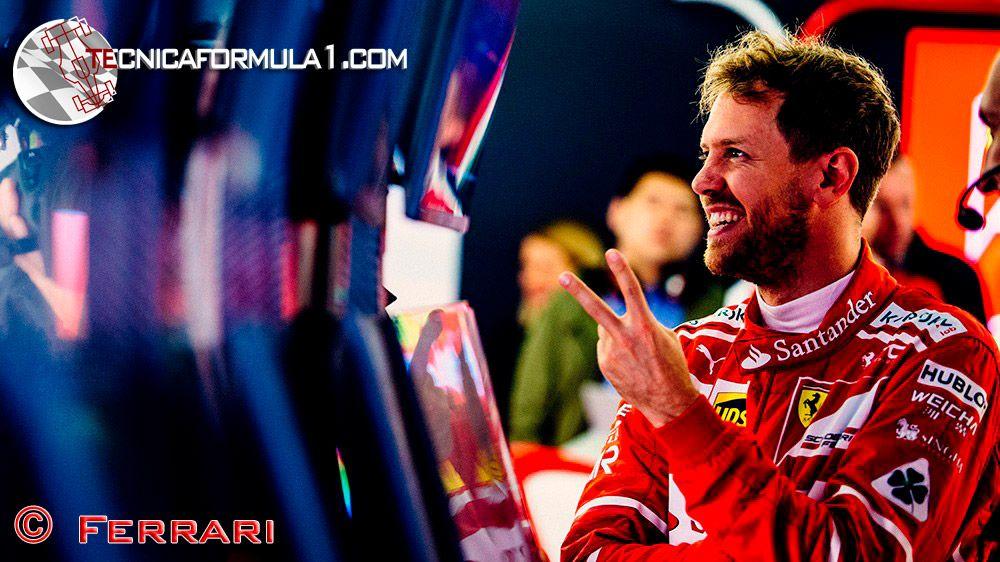 "Vettel: ""Podría haber sido una carrera muy diferente, pero estoy contento""  #F1 #Formula1 #ChineseGP"