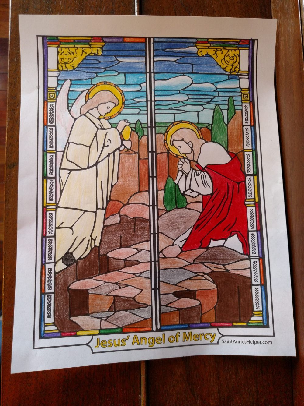 Sorrowful Rosary Coloring Page ❤ Rosary Coloring Pages | Lent ...