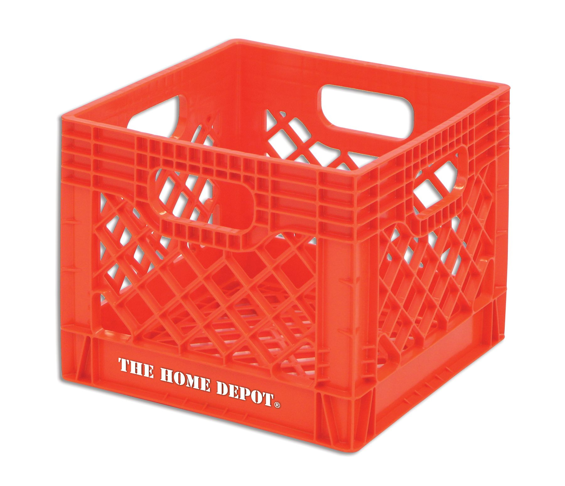 The Home Depot Crate This Milk Crate Is Only 6 97 These Are Amazing And So Handy I Already Bught 2 But Im Crate Storage Home Depot Canada Home Depot Crates