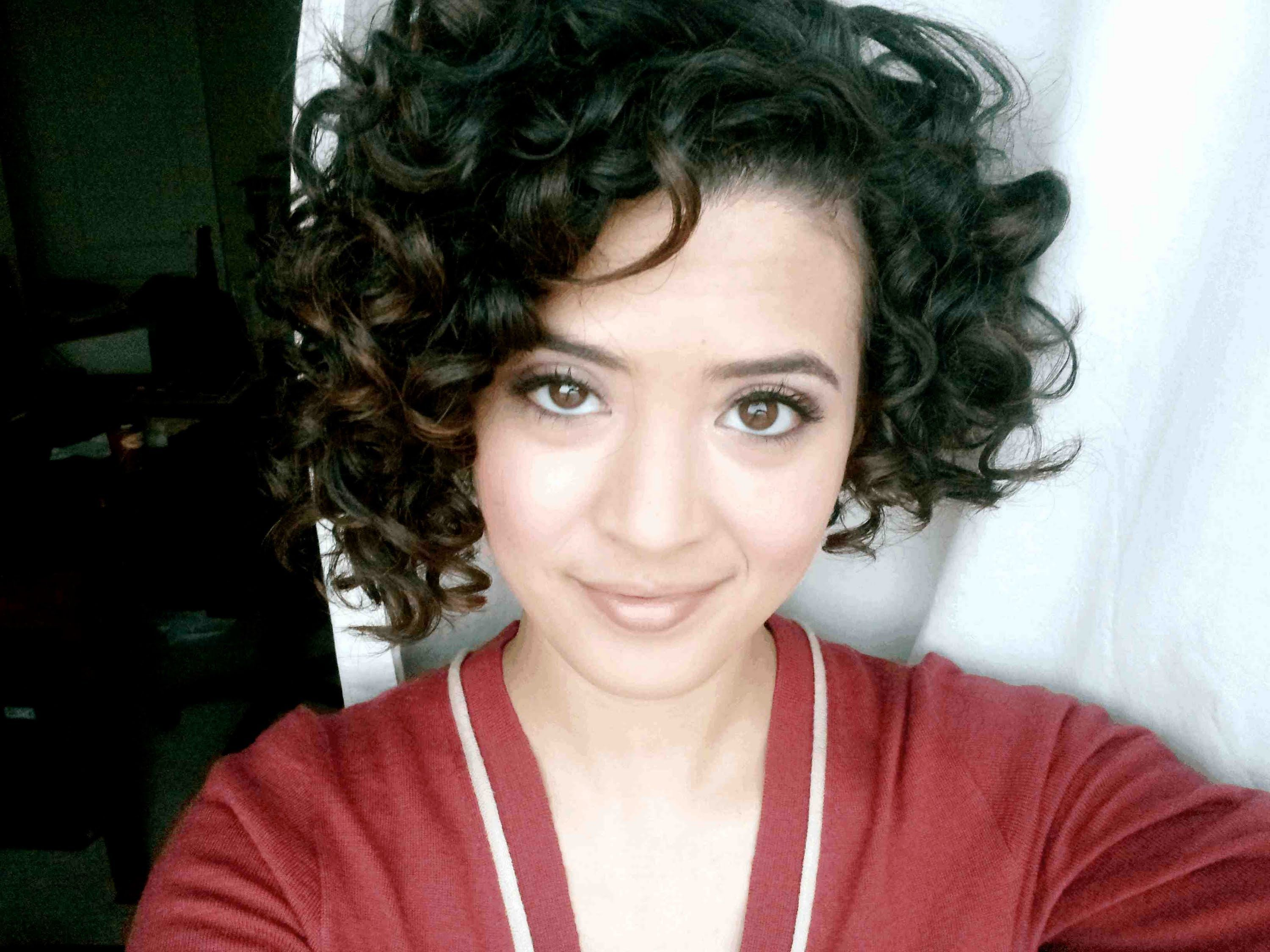 Great Curly Hair Routine And Her Hair Is ADORABLE! LOVE IT