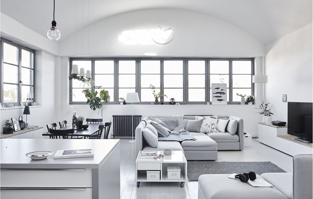 Il soggiorno minimalista di Fiona in stile scandinavo - IKEA ...