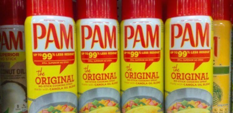 11 Things You Can Fix Or Clean With Pam Cooking Spray 1000 In 2020 Pam Cooking Spray Kitchen Spray Candle Wax Removal