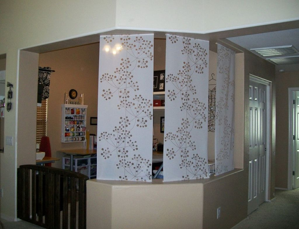 Room divider half wall - Agreeable Room Divider With Half Wall And Paper Beautiful White Fabric Room Divider Half Wall Room