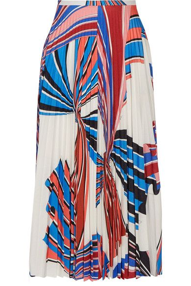 pleated printed skirt - Multicolour Emilio Pucci Sale For Nice Discount Visit New Free Shipping Comfortable Shop fAqg03
