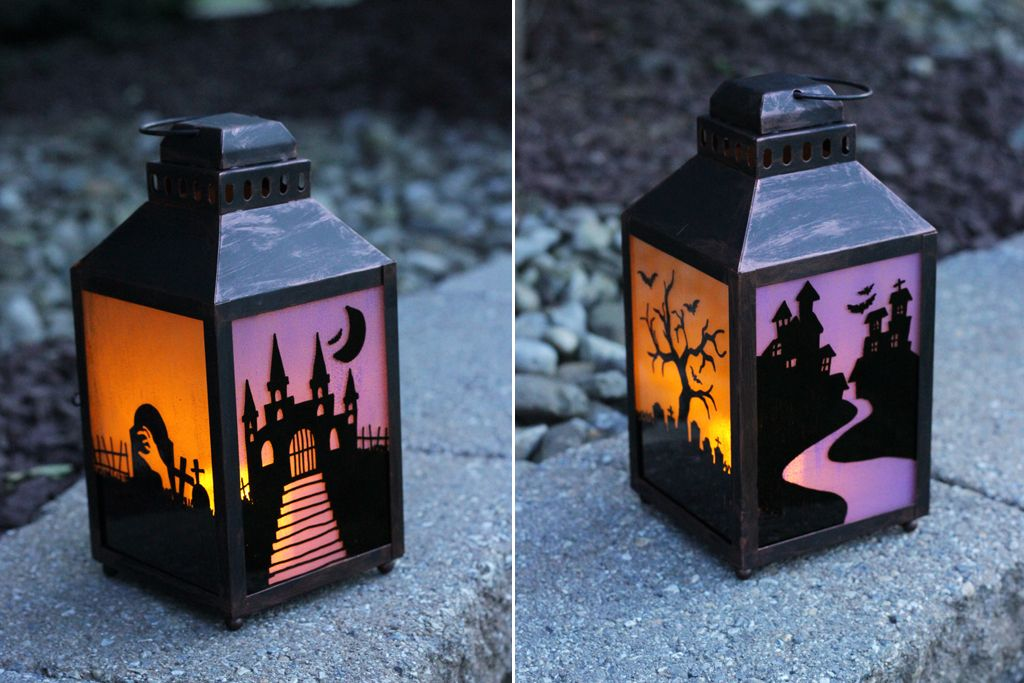 halloween lantern template  DIY Halloween Lanterns | Halloween lanterns, Halloween diy ...