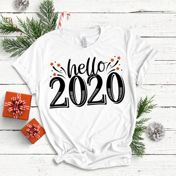 Hello 2021 / New years SVG / Clip Art / Cut File /