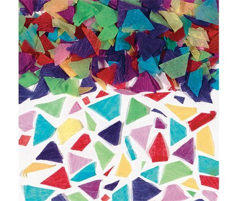 Festive Tissue Confetti 5oz Birthday Confetti Birthday
