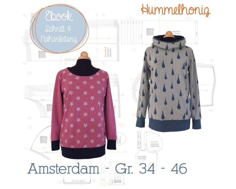 Ebook Damen Sweat/ Hoodie Amsterdam (Gr. 34-46) | | Ebooks ...