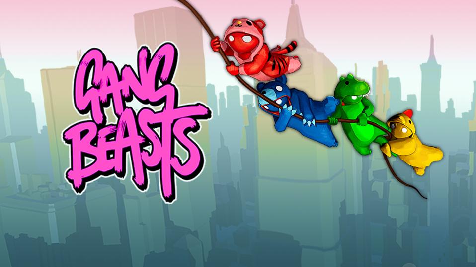 Pin De Sixiemejv En Jeux Video Gang Beasts Ps4 Ilustraciones