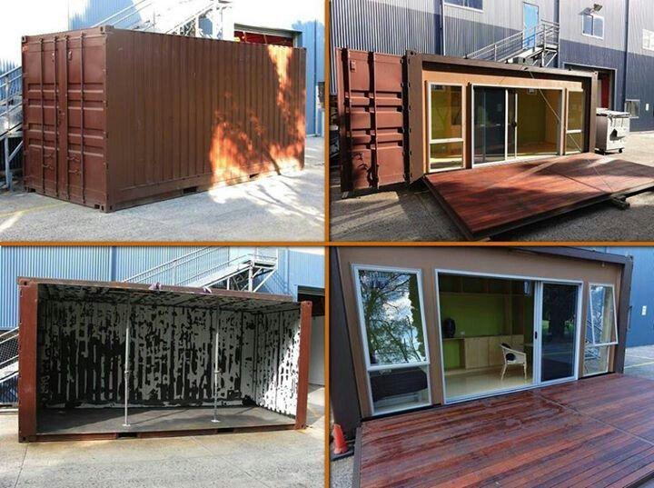 Centro comercial contenedores buscar con google casa - Casa hecha con contenedores ...