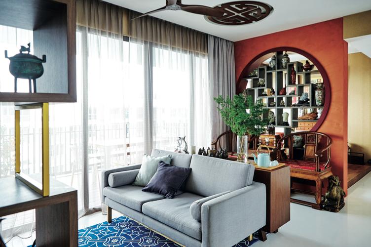House Tour A Unique Fengshui Driven Condominium Apartment Home Decor Interior Design Interior Design Styles