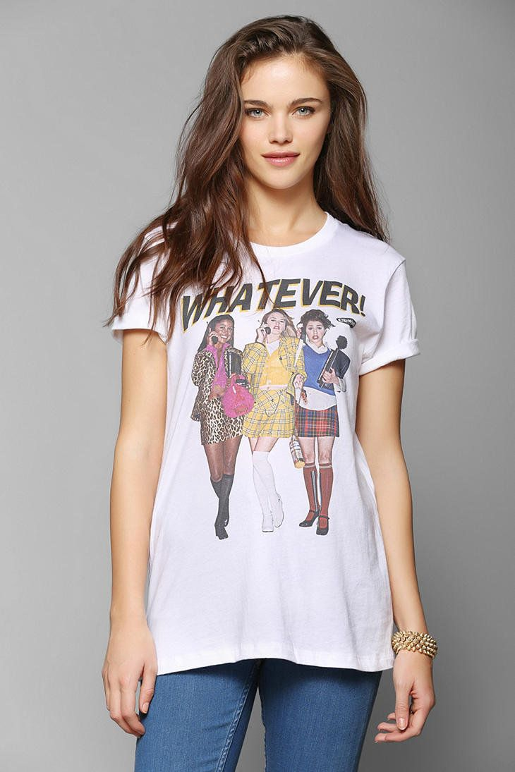 Clueless Whatever Tee - Urban Outfitters