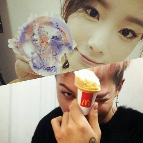Gd and taeyeon dating rumor