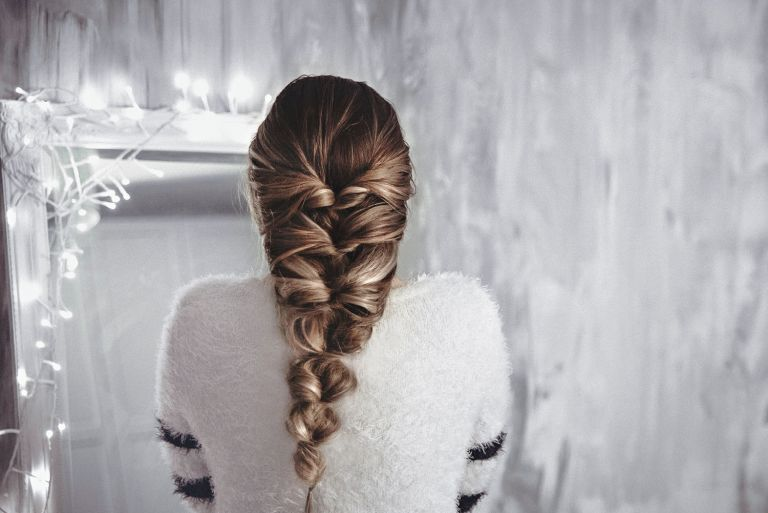 Photo of How to make a bohemian cheat braid in 5 minutes