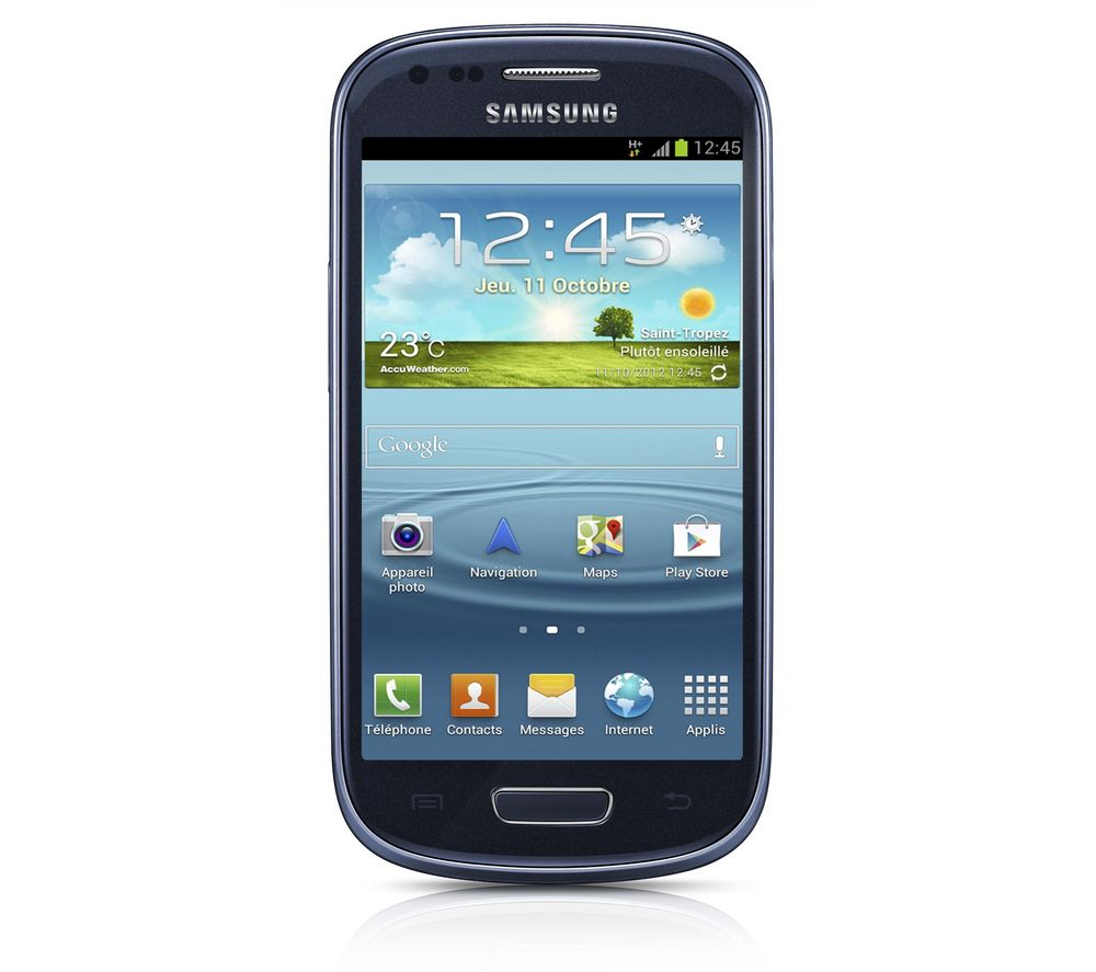 Samsung Tlphone Mobile Galaxy S3 Pas Cher Pinterest Lcd Touchscreen Mini White Original Blue Smartphone Android Device
