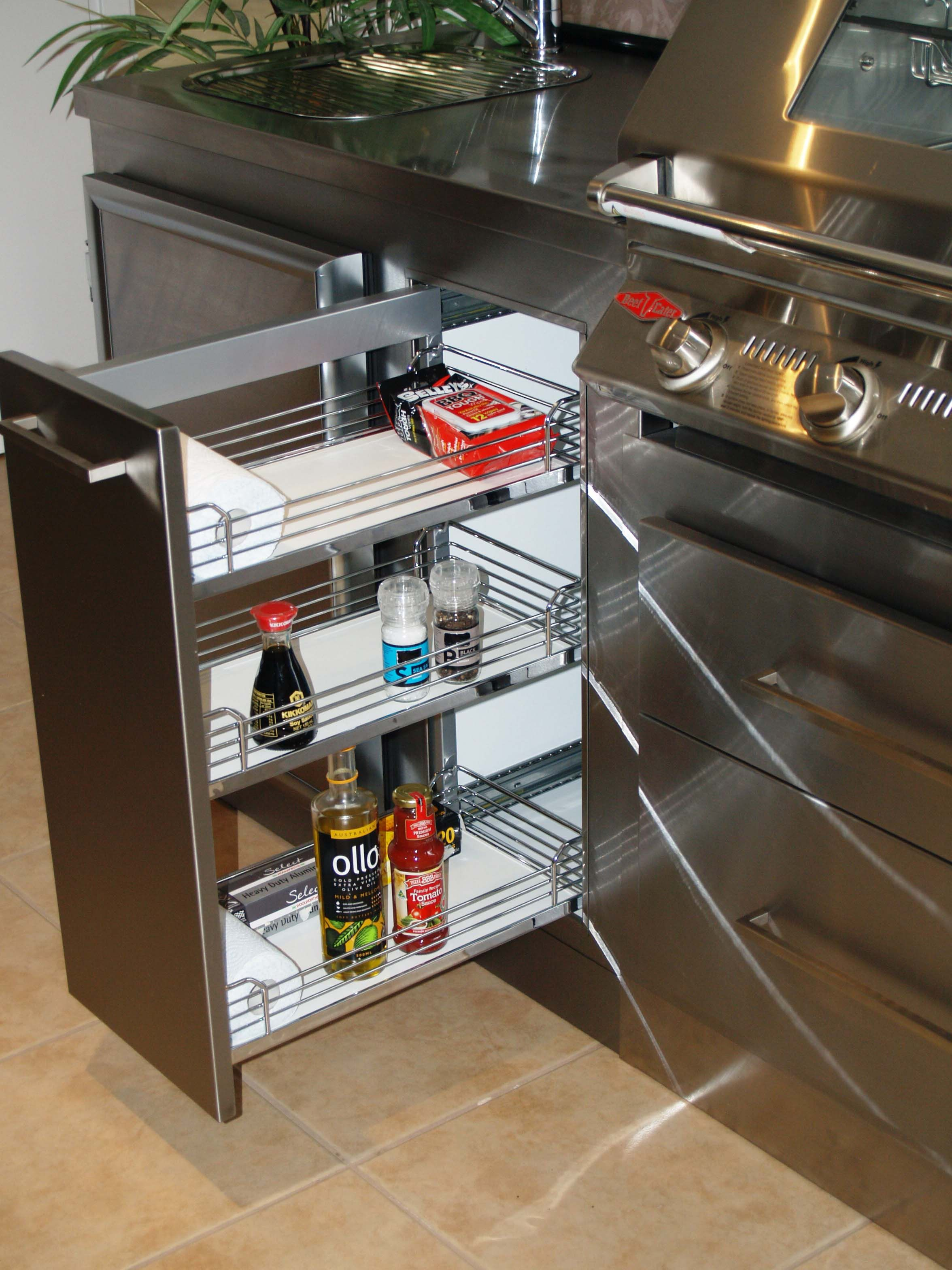 Condiment / Spice Drawers in 2020 (With images) Cottage