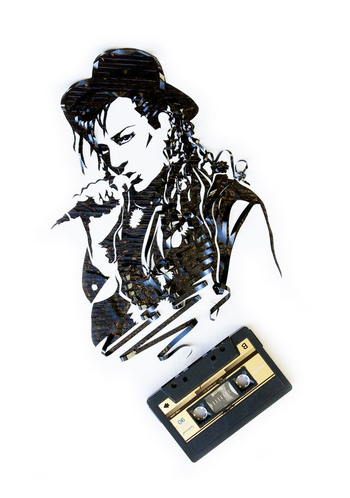 Cassette Tape Art Cassette Tape Art Tape Art Tape Wall Art