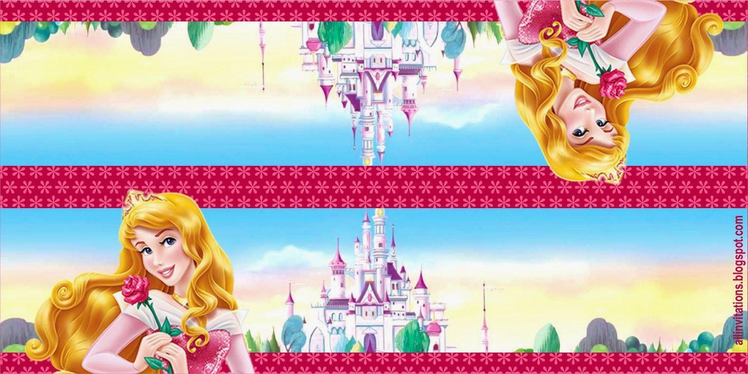 Etiqueta Bolsa de Dulces Princesa Aurora | prinesa aurora ...