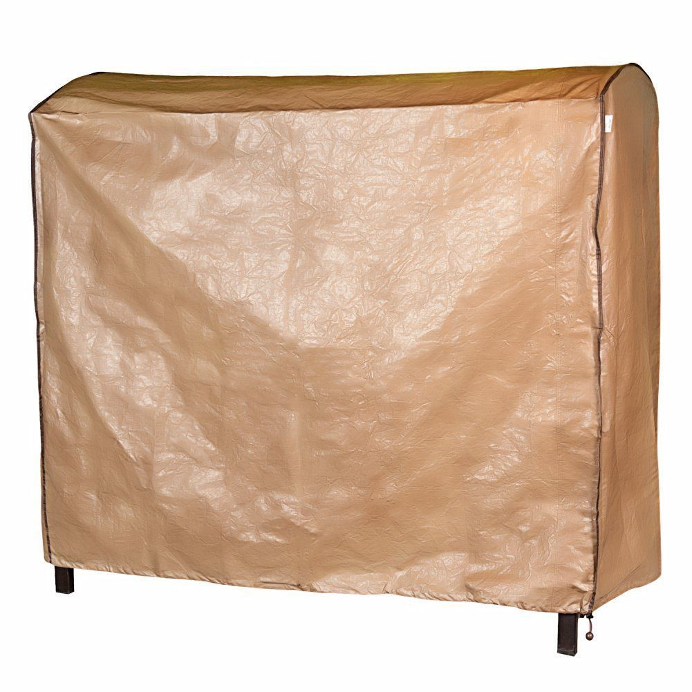 Abba patio brown polyethylene outdoor patio cover for seat canopy